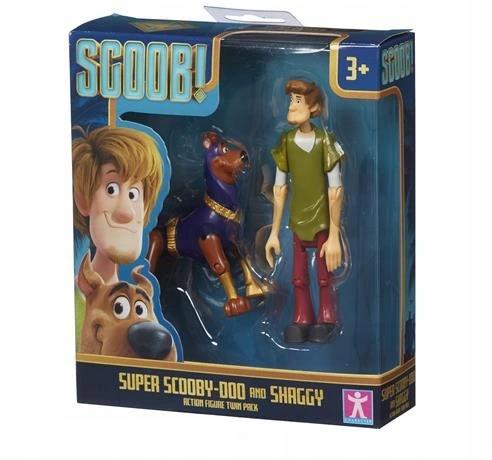 Sada 2 figúrok Scooby-Doo z rozprávky Scooby Shaggy