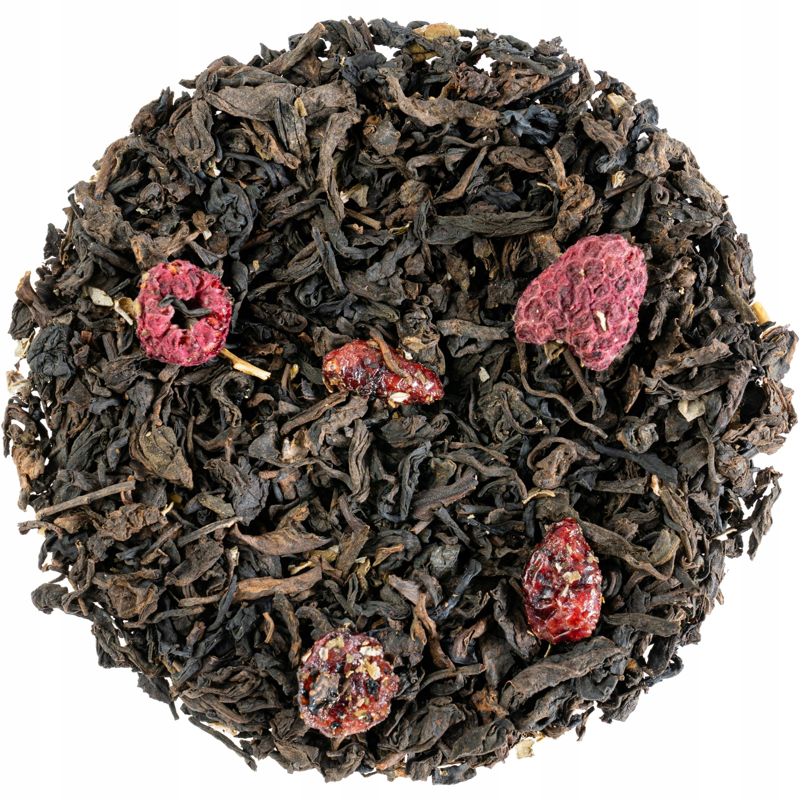 Pu Erh ŻURAWINOWO MALINOWA Herbata Czerwona - 50g