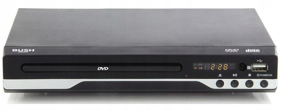 ODTWARZACZ DVD BUSH 2 KOLORY WYŚWIETLACZ USB G1/G2 Model ODTWARZACZ DVD BUSH 2 KOLORY WYŚWIETLACZ
