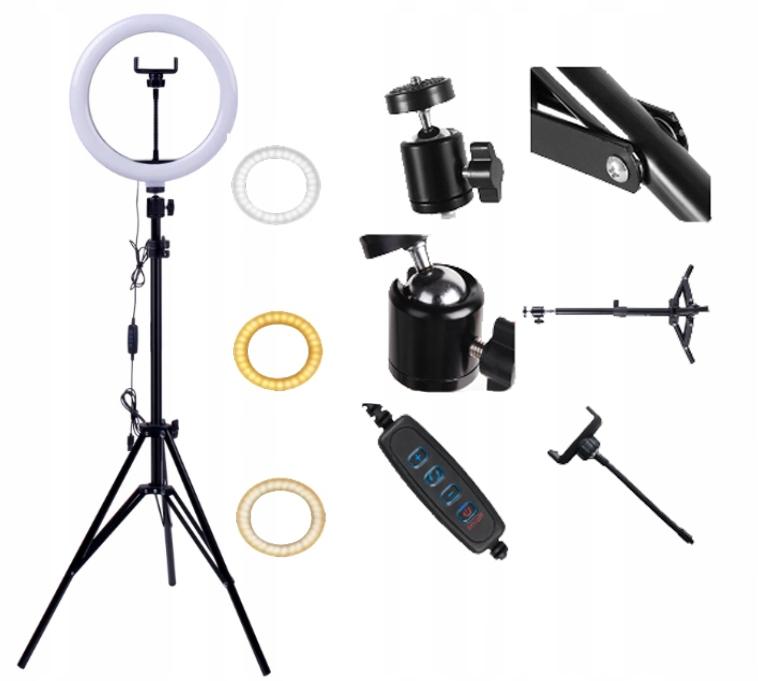 Item Lamp ring LED 30CM 2m tripod selfi Visage