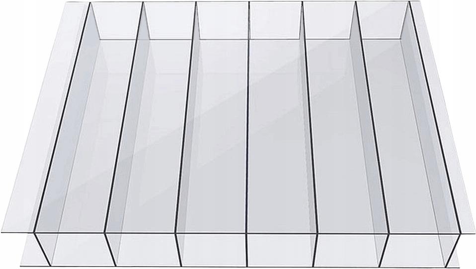 POLIWĘGLAN KOMOROWY 6mm UV bezbarwny - 6x2,1m