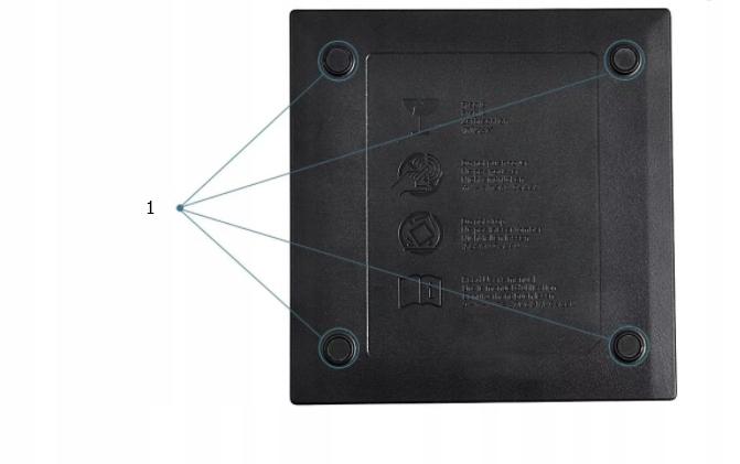 NAPĘD ZEWNĘTRZNY CD-R/DVD-RW/ROM NAGRYWARKA USB 3 Typ napędu zewnętrzny