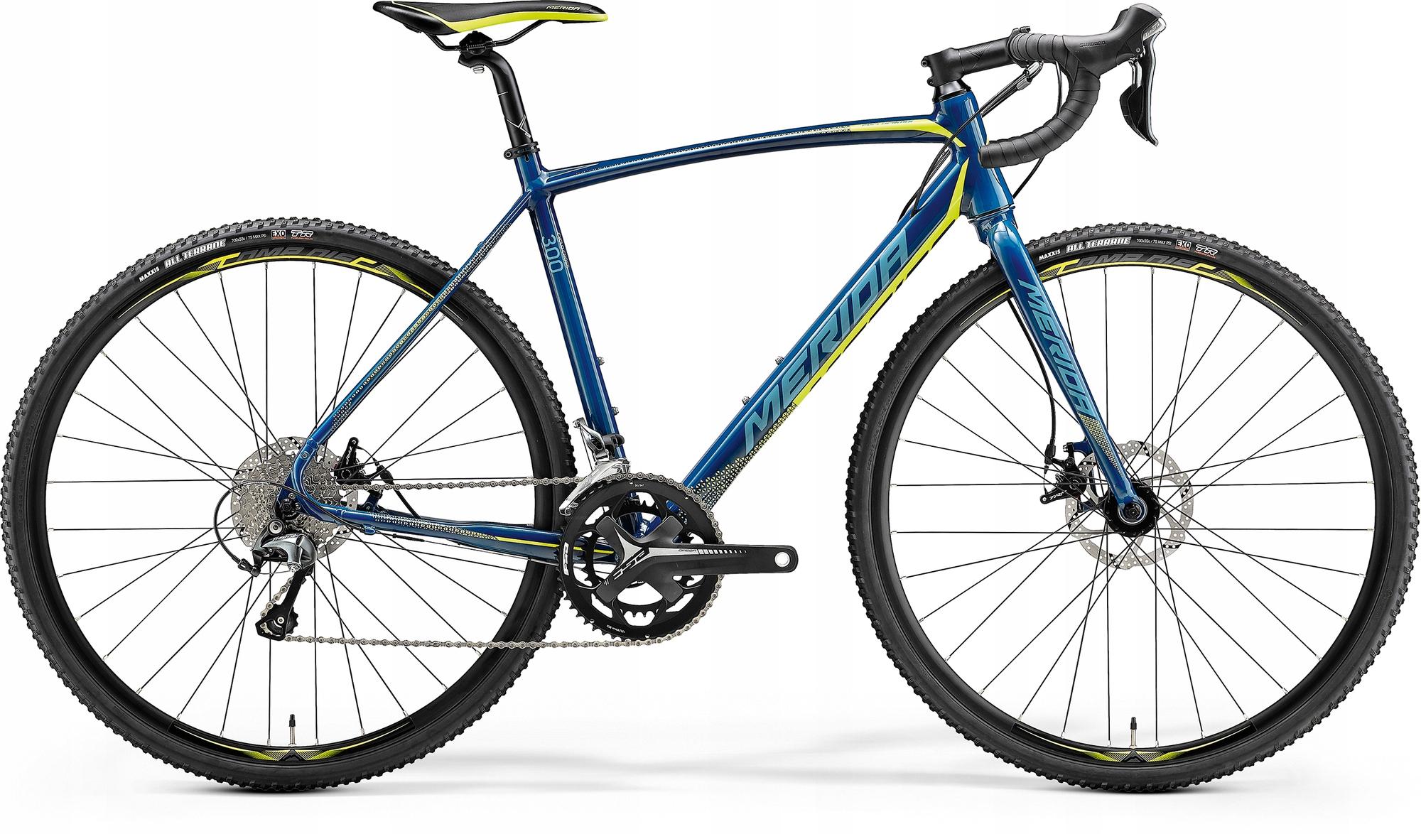 Okolo kríža v lese MERIDA Cyclo Cross 300 Tiagra R56