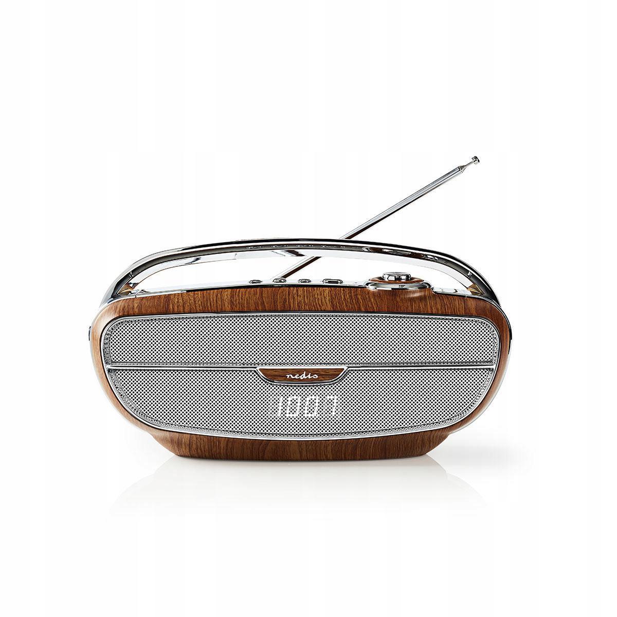 FM Rádio, Bluetooth NEDIS RETRO ŠTÝL vo vašej domácnosti
