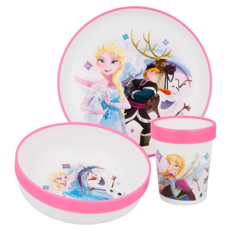 Frozen - Miska, tanier a hrnček (260 ml)