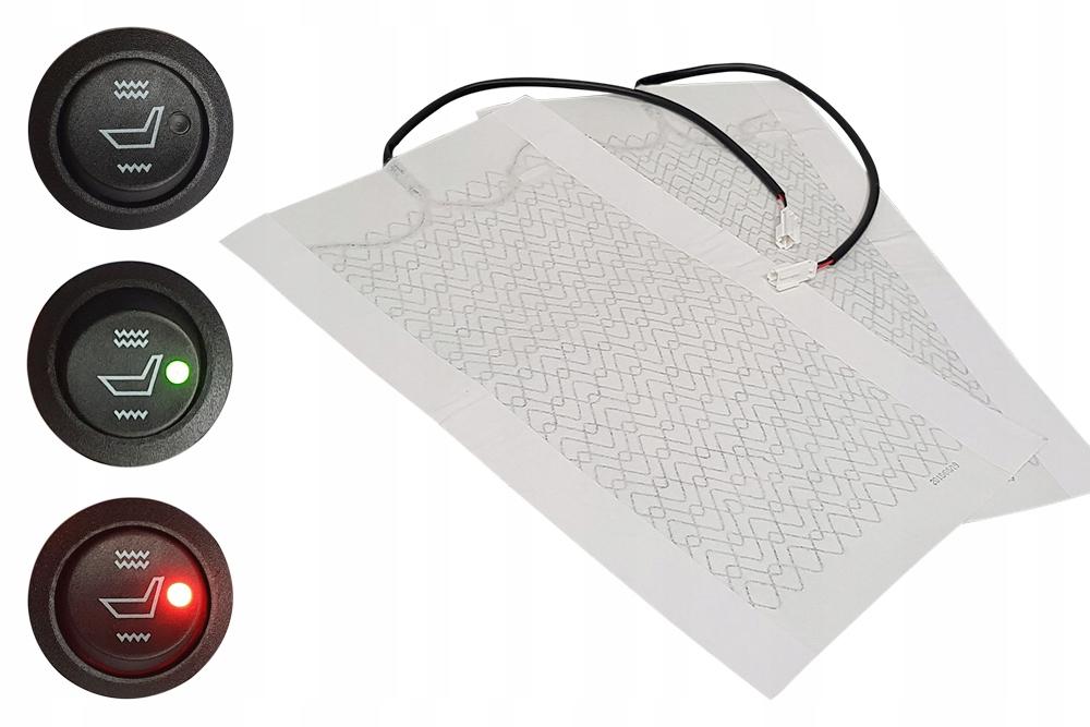 Нагревательный мат - обогрев для обивки 12 В в комплекте
