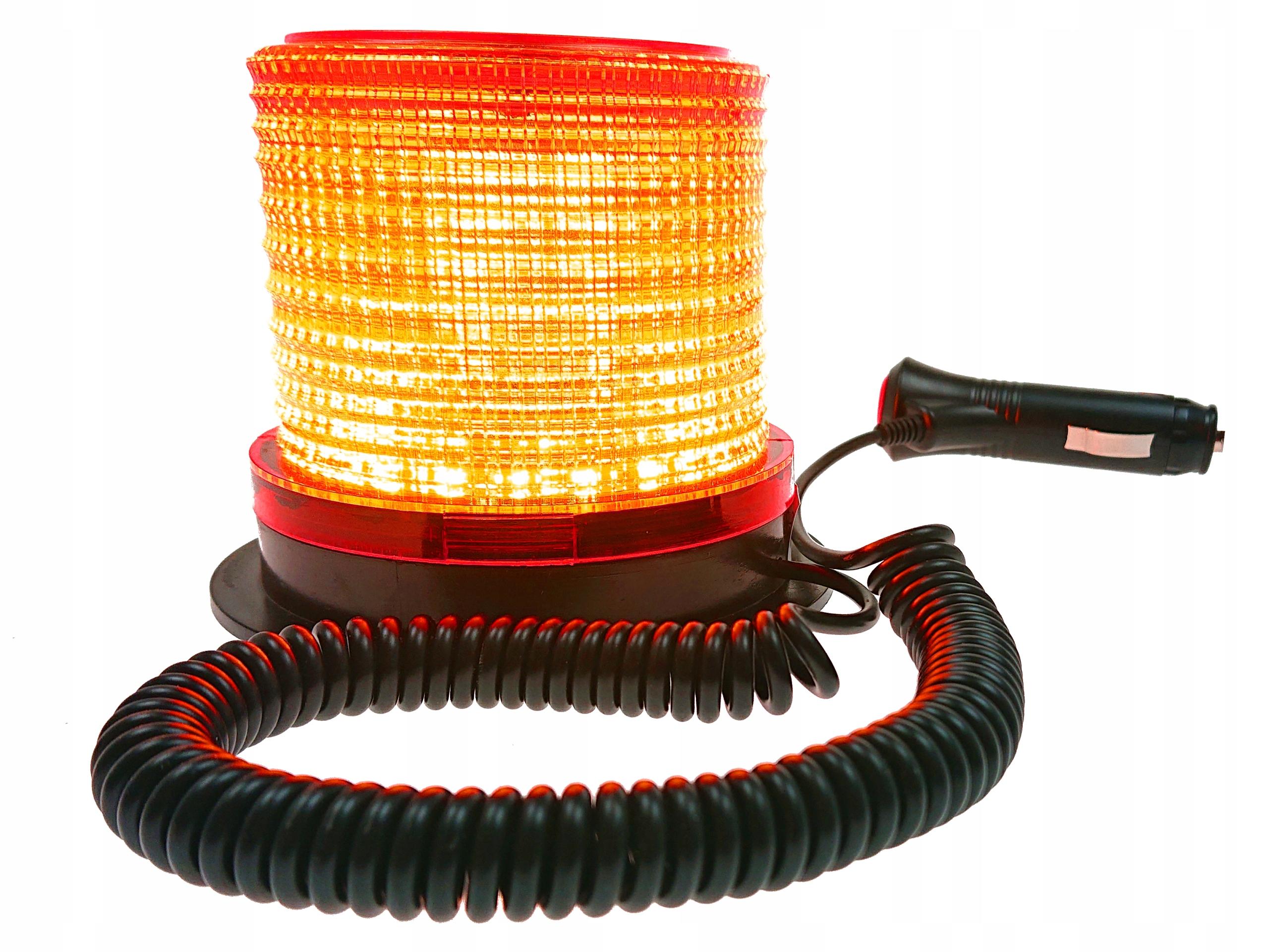 лампа вспышка предупреждения петух 12v 24v led магн