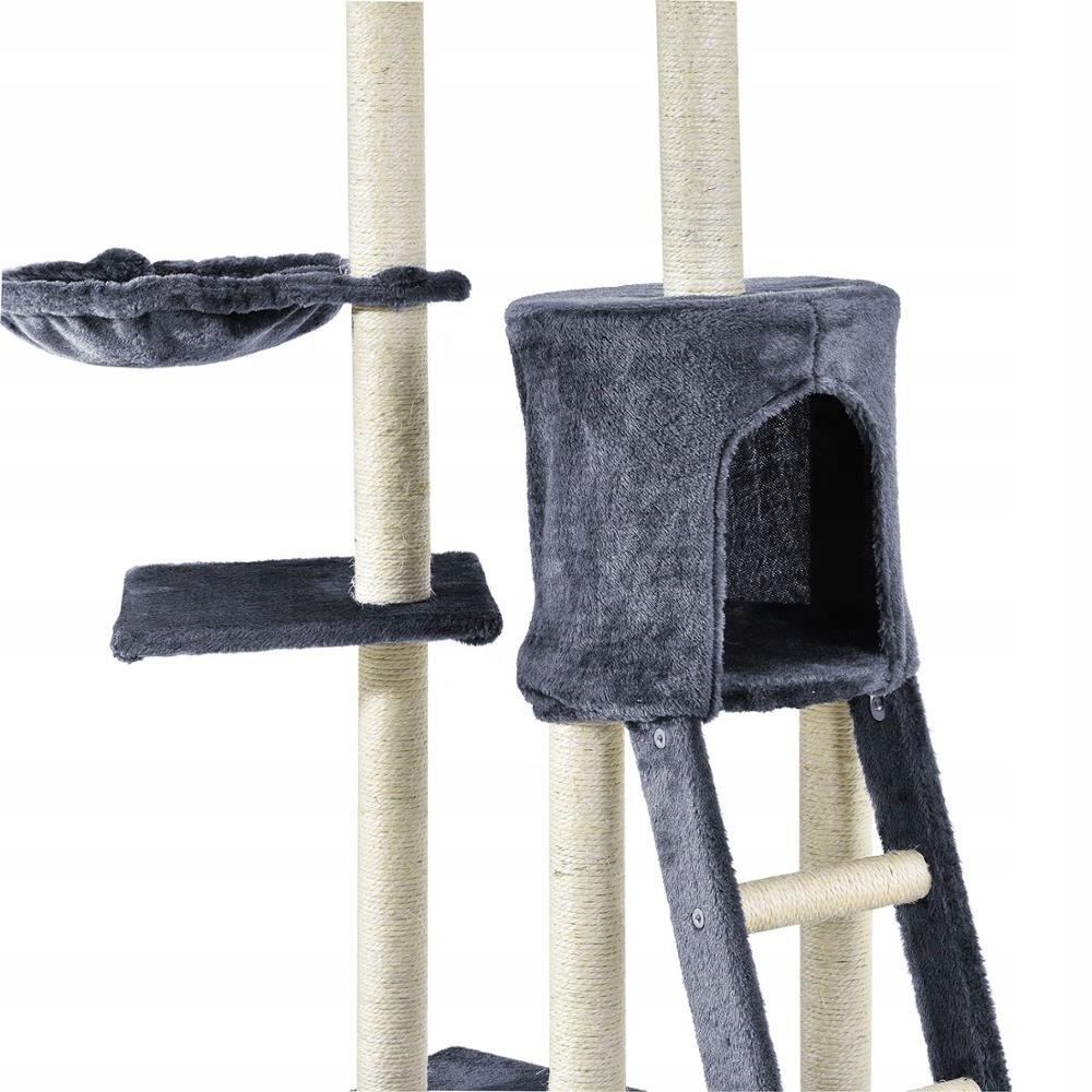 Drapak dla kota duży domek legowisko zabawa Kod producenta drapak drzewko dla kota legowisko domek