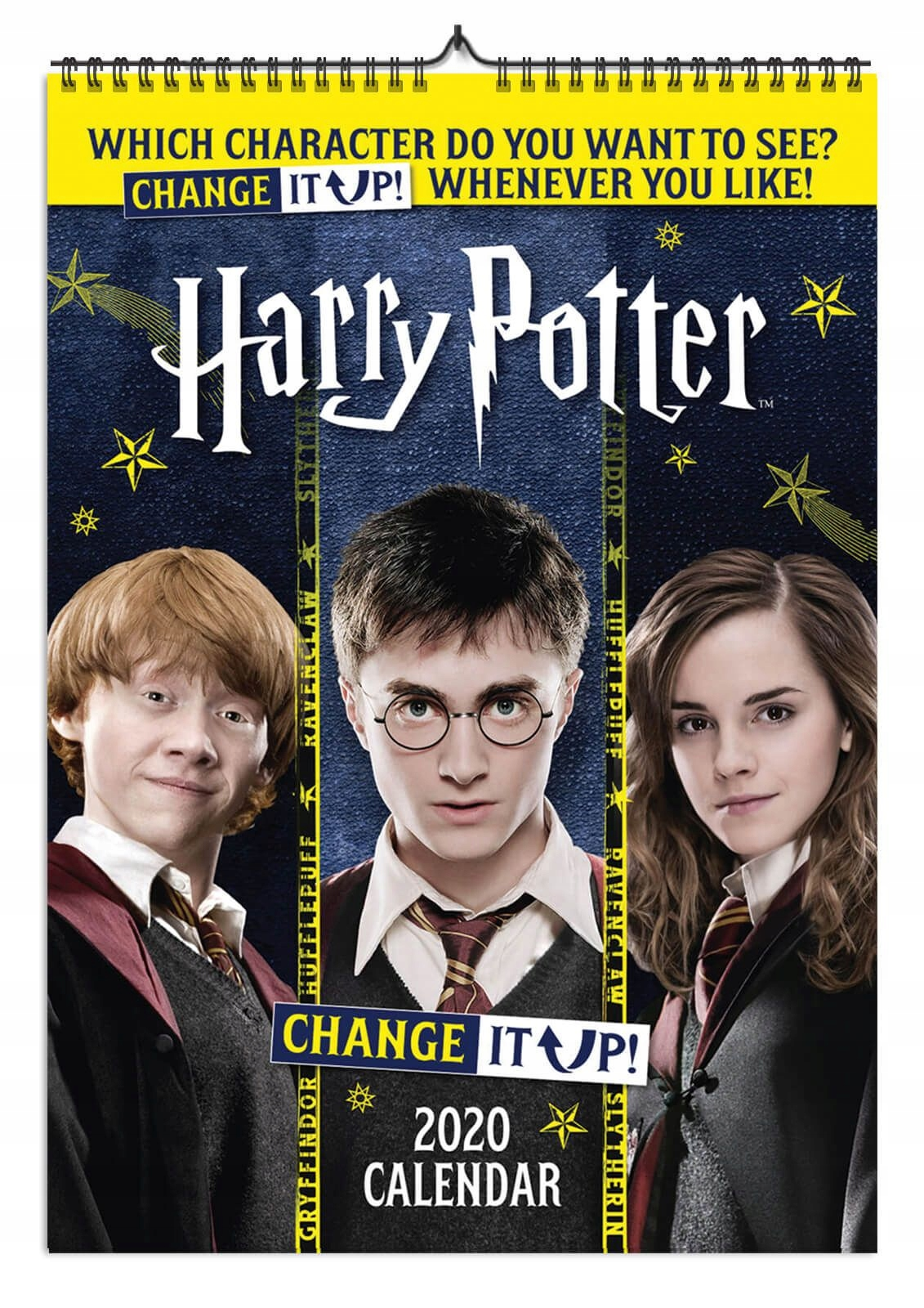 Harry Potterový kalendár A3 Zmeňte ho na 2020 rok