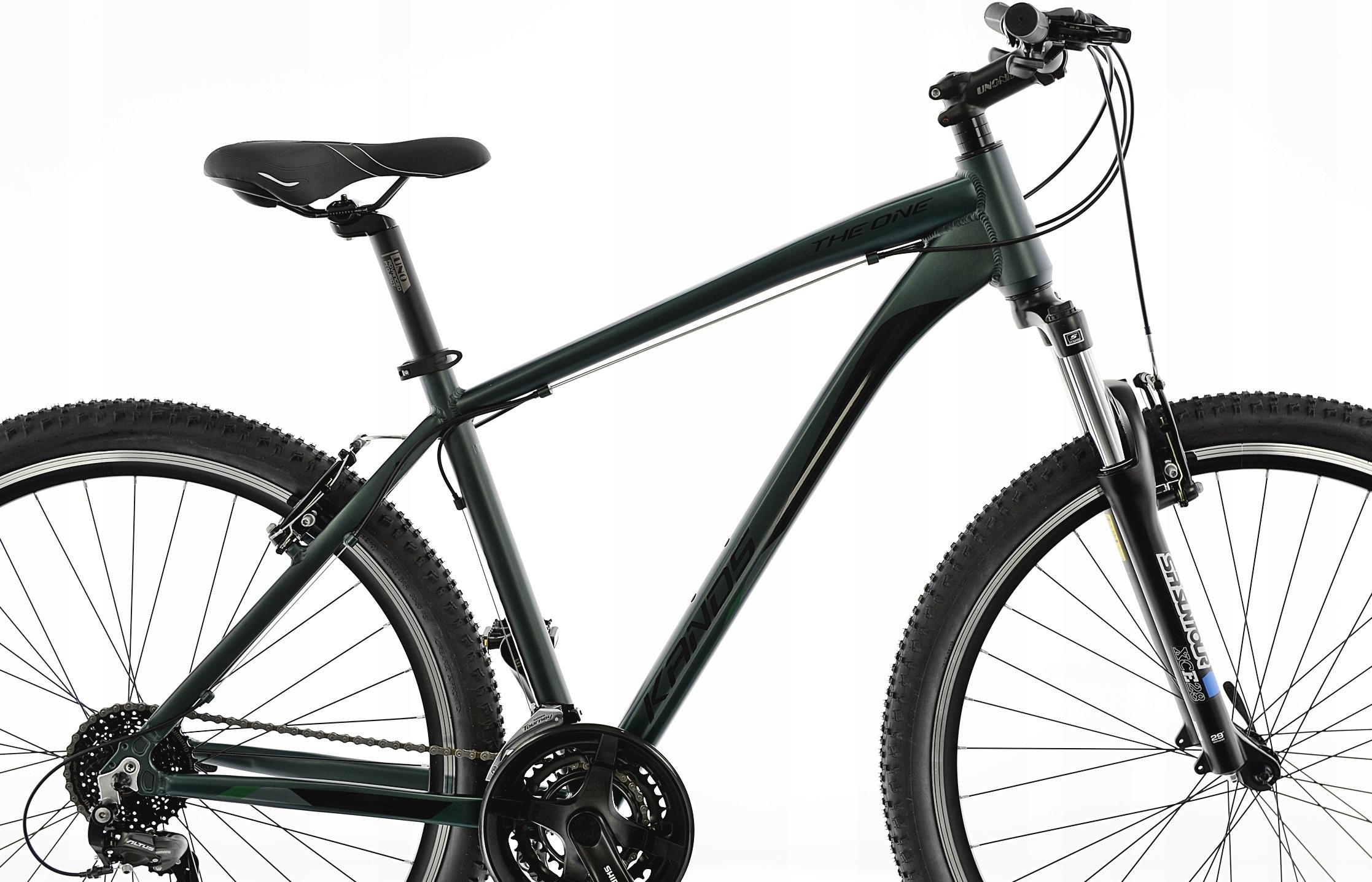KANDS THE ONE rower mtb 29 VB altus 19 zieleń 2021 Liczba biegów 21
