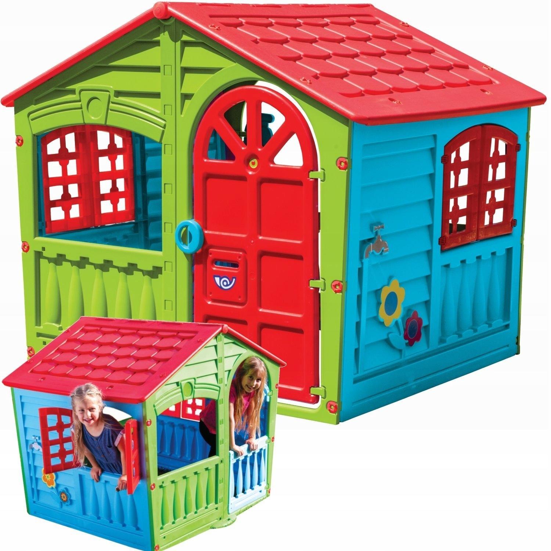 Duzy Domek Ogrodowy Dla Dzieci Do Ogrodu Palplay 9078805491 Allegro Pl