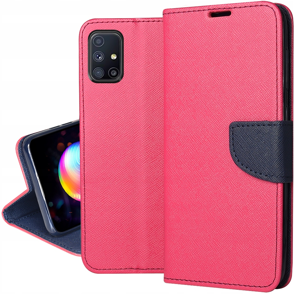 Etui do Samsung Galaxy M31S Fancy Case + SZKŁO 9H