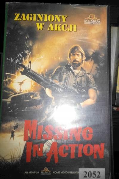 Item Missing in action - VHS cassette