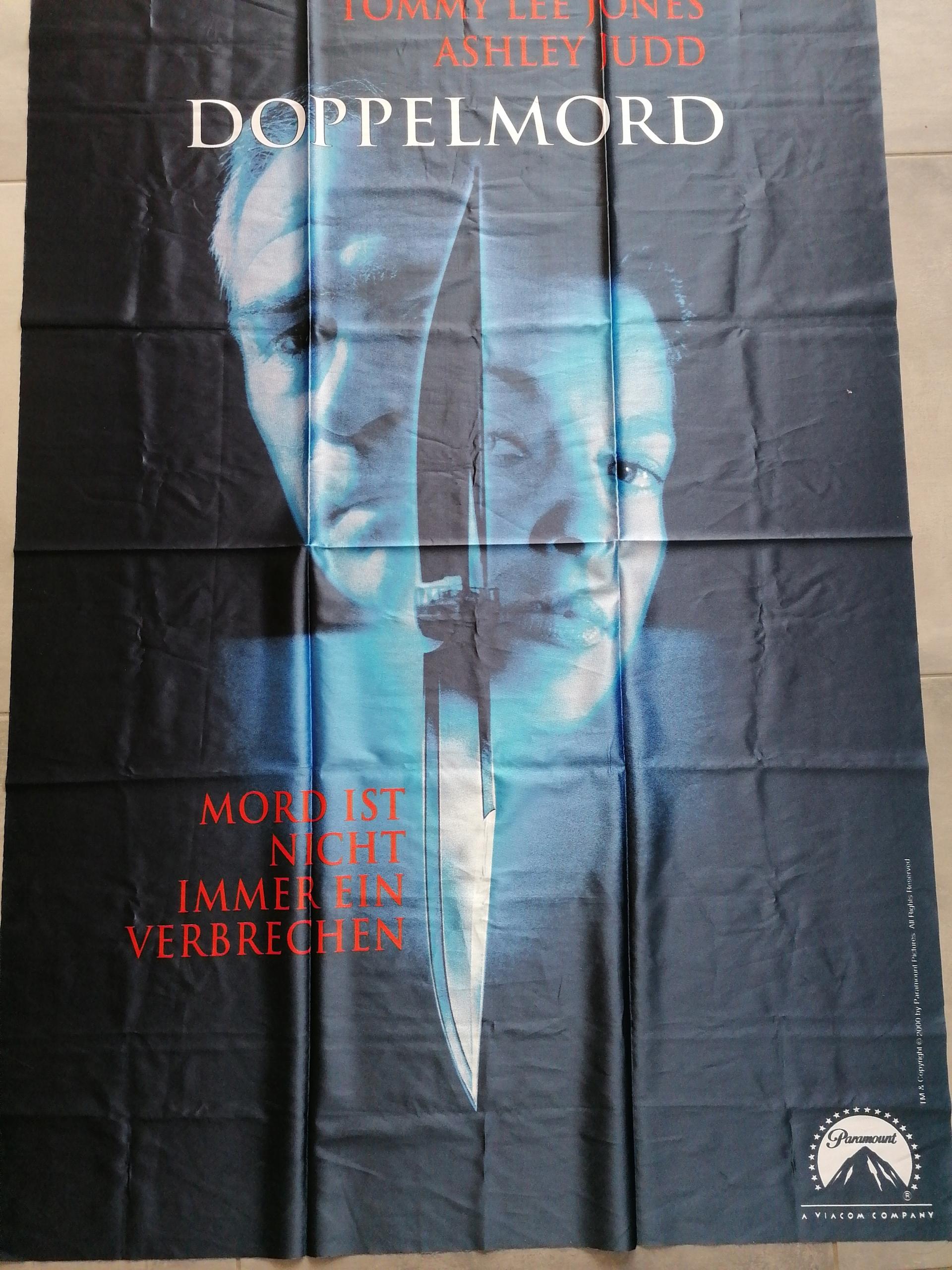 Doppelmord - Trailer Deutsch Veľké plátno plagát