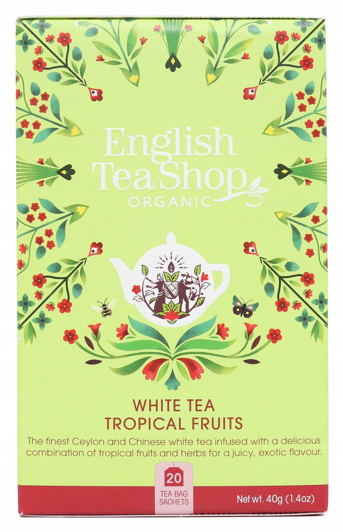 Белый чай Tropical Fruits (20x2) BIO 40 г