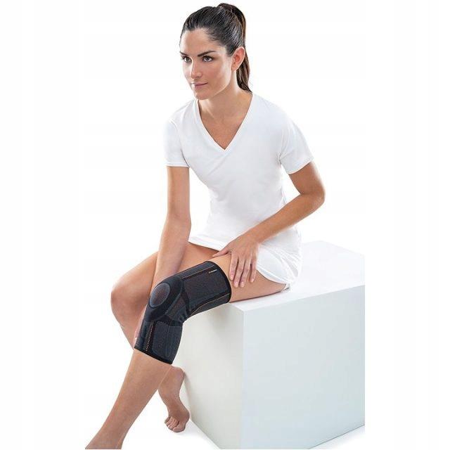 ELASTYCZNY STABILIZATOR KOLANA Z STALKAMI BOCZNYMI Waga produktu z opakowaniem jednostkowym 0.15 kg