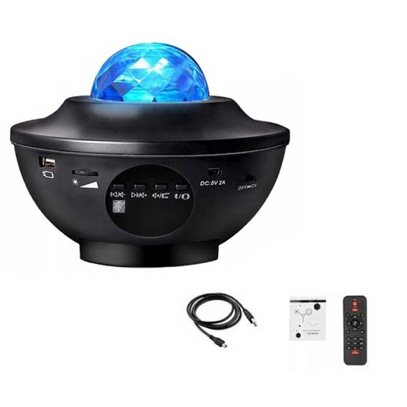 Звездный светодиодный звездный проектор - декор комнаты подарок