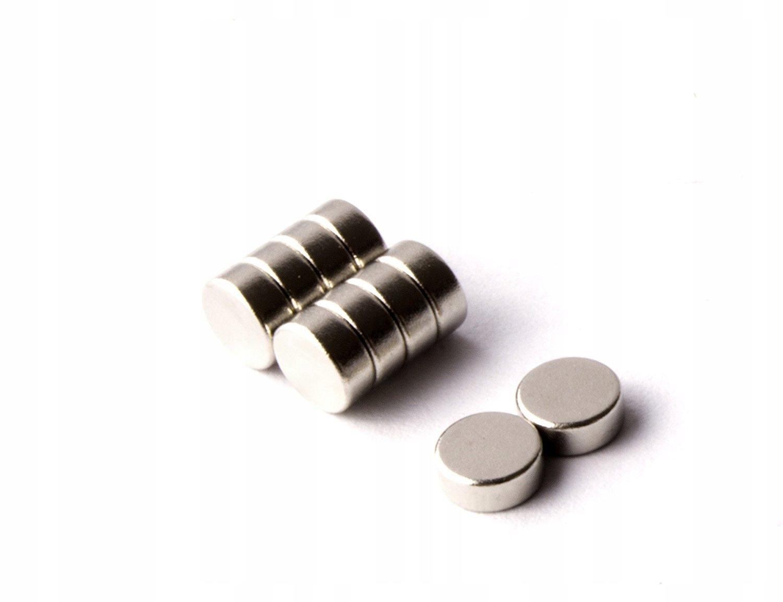 Neodymové magnetové magnety 2x1 2/1 10 ks.