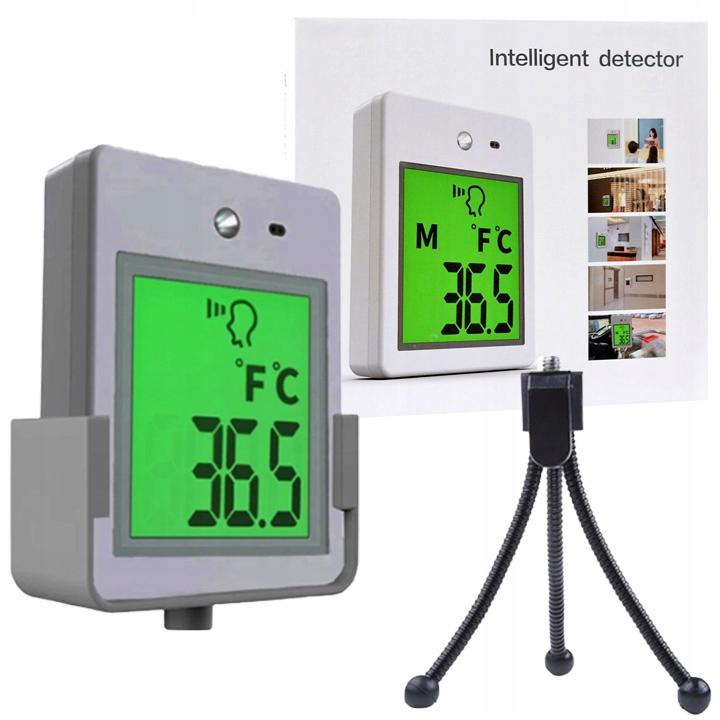 Termometr Bezdotykowy Podczerwień + Mini Statyw