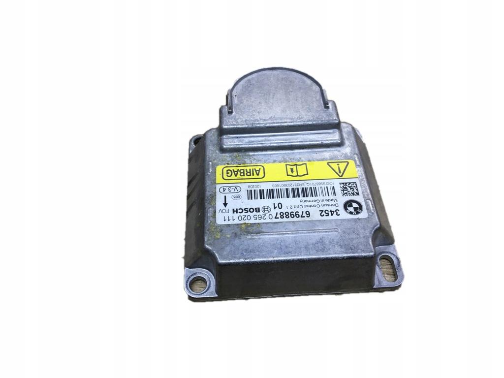 модуль драйвер подушек airbag icm bmw f10 f11