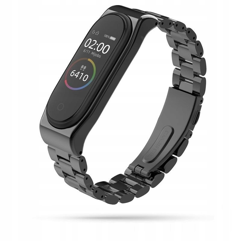 Bransoleta Stainless do Xiaomi Mi Band 3 / 4