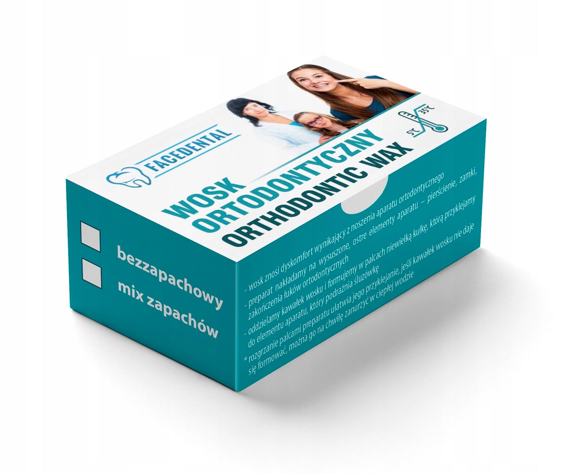 Ортодонтический воск без запаха 10 op. 5 шт.