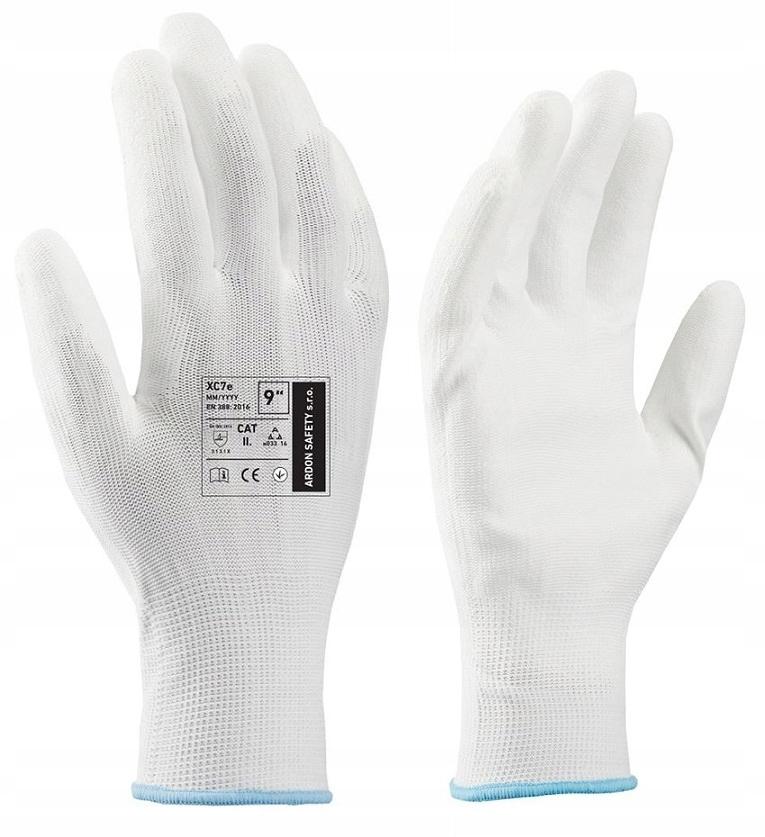 Рабочие перчатки 12 Пар Ардон Xc7e Полиуретан 9