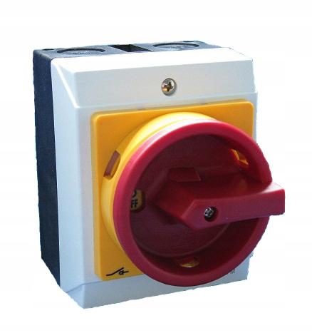 Łącznik krzywkowy wyłącznik rozłącznik 16A 0-1 OB