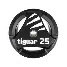 Olympijská gumová doska Tiguar 25 kg