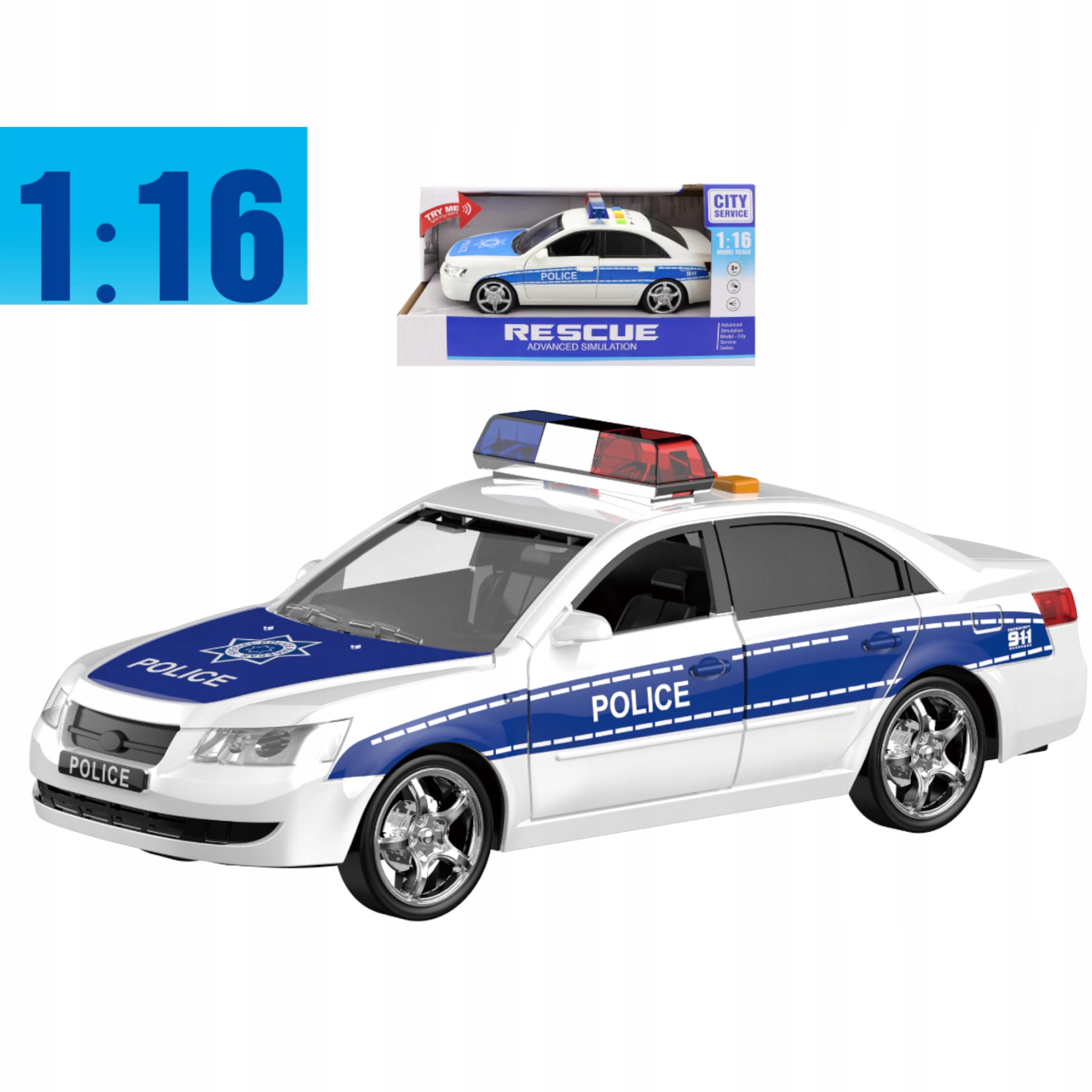 Samochód policyjny otwierane drzwi dźwięki WY560A Kod producenta WY560A