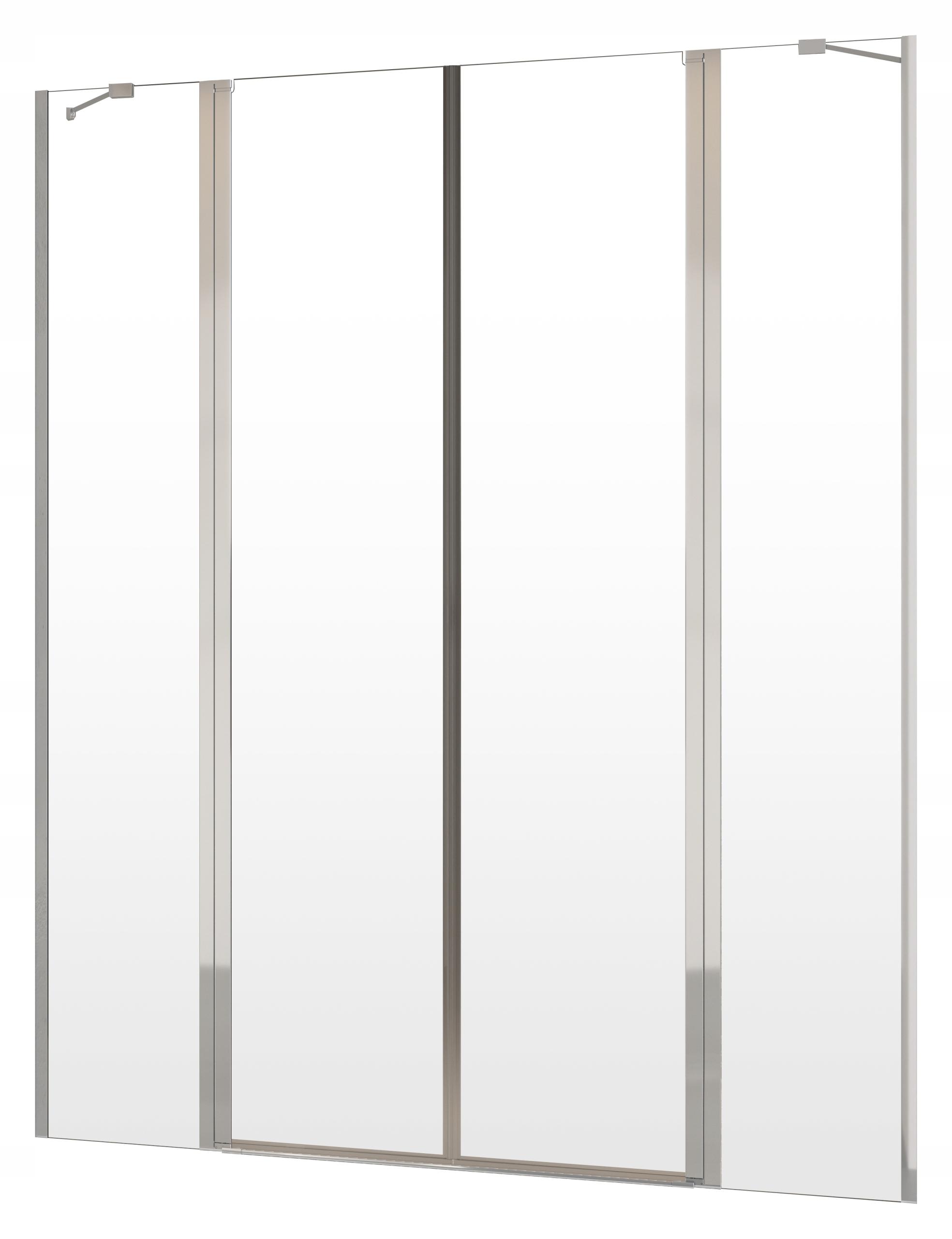 NES DWD II W1 130x200 RADAWAY sprchové dvere cl