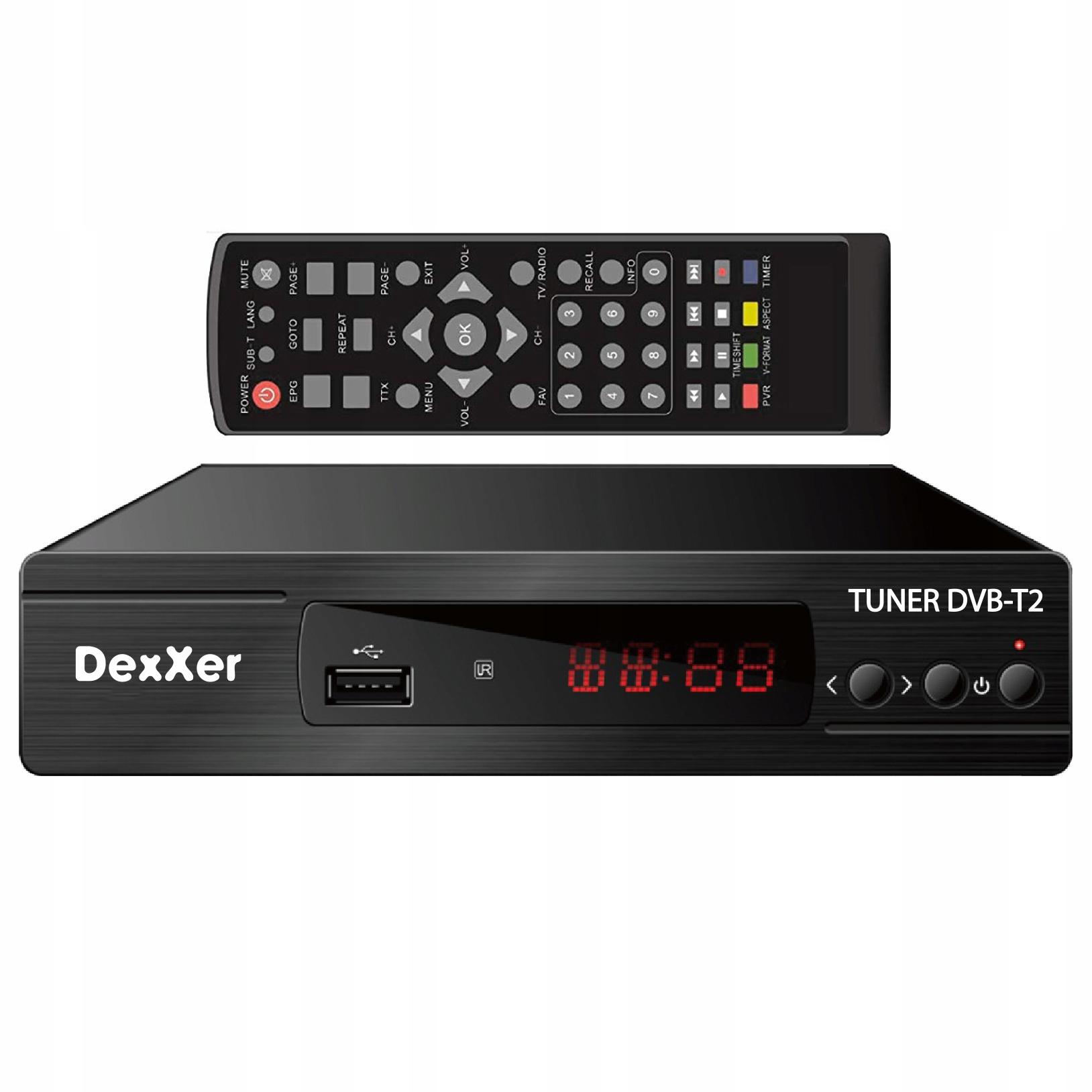 ТЮНЕР ЦИФРОВОЙ ДЕКОДЕР DVB-T DVB-T2 HDMI HD TV