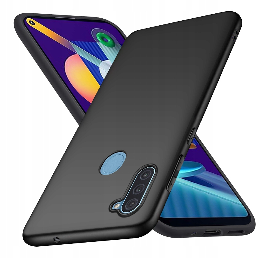 Etui do Samsung Galaxy M11 Case Matt + Szkło 9H