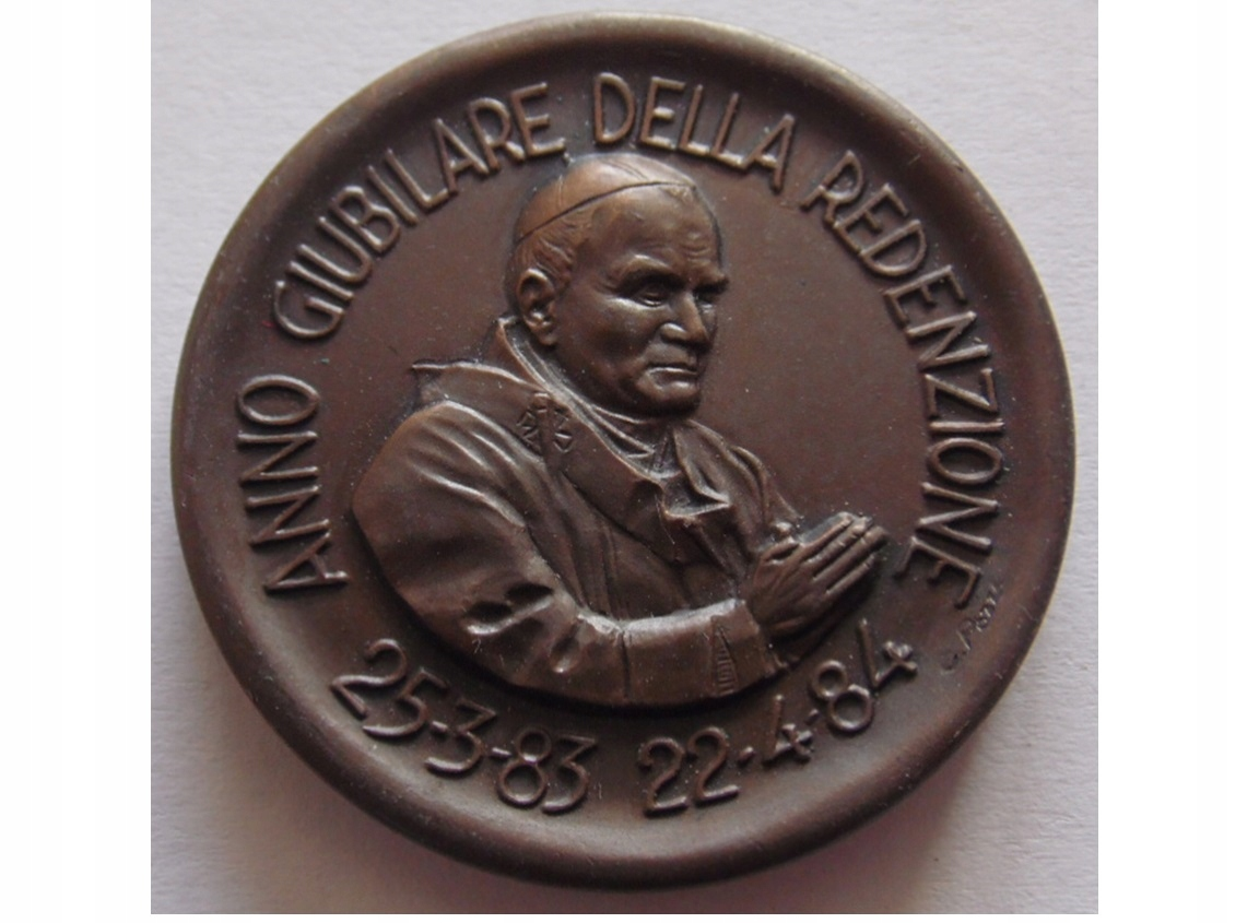 Medal Jan Paweł II Rok Jubileuszowy STAN I