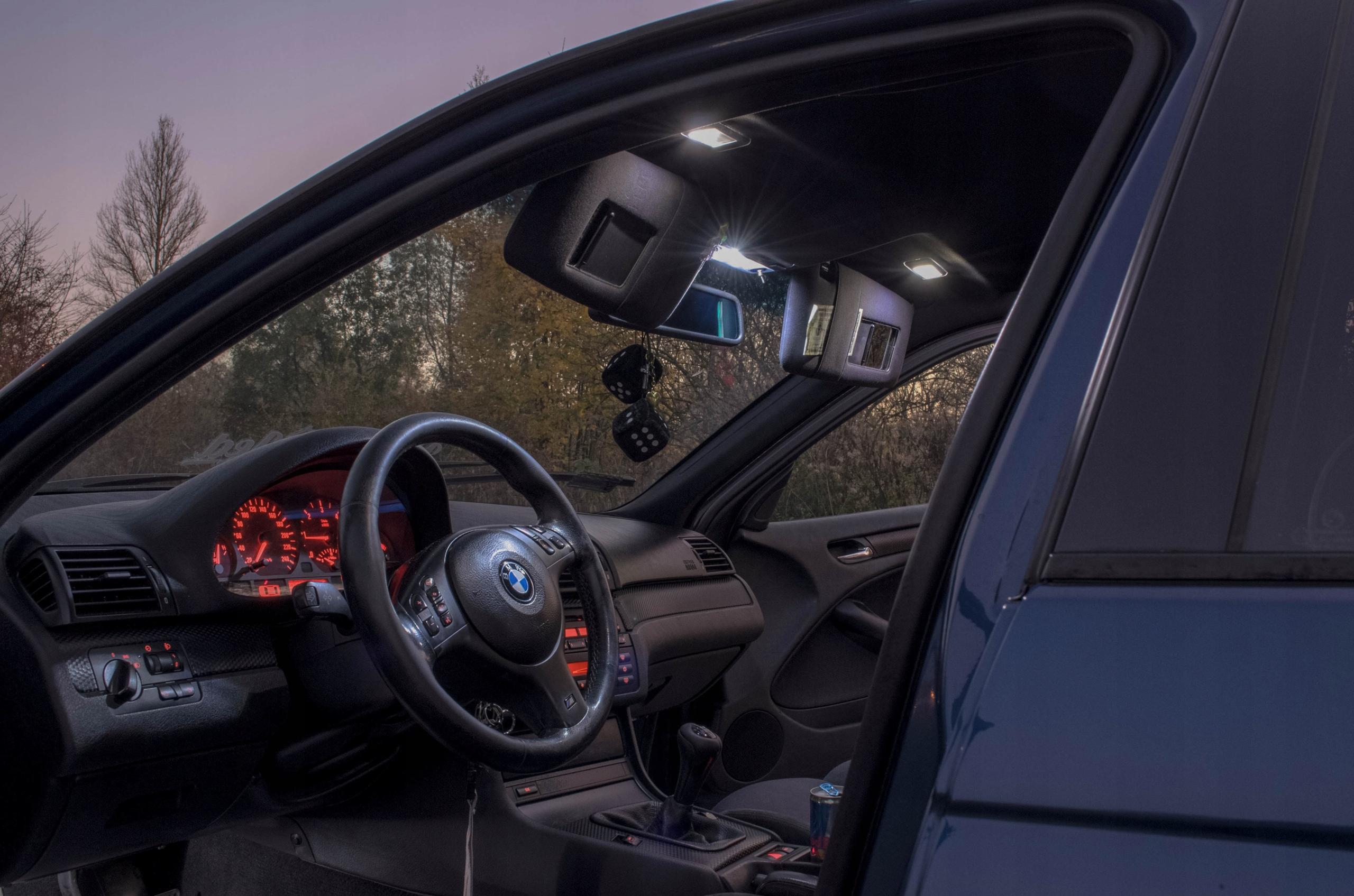 BMW E60 - Zestaw Oświetlenie wnętrza LED! VIP Rodzaj LED