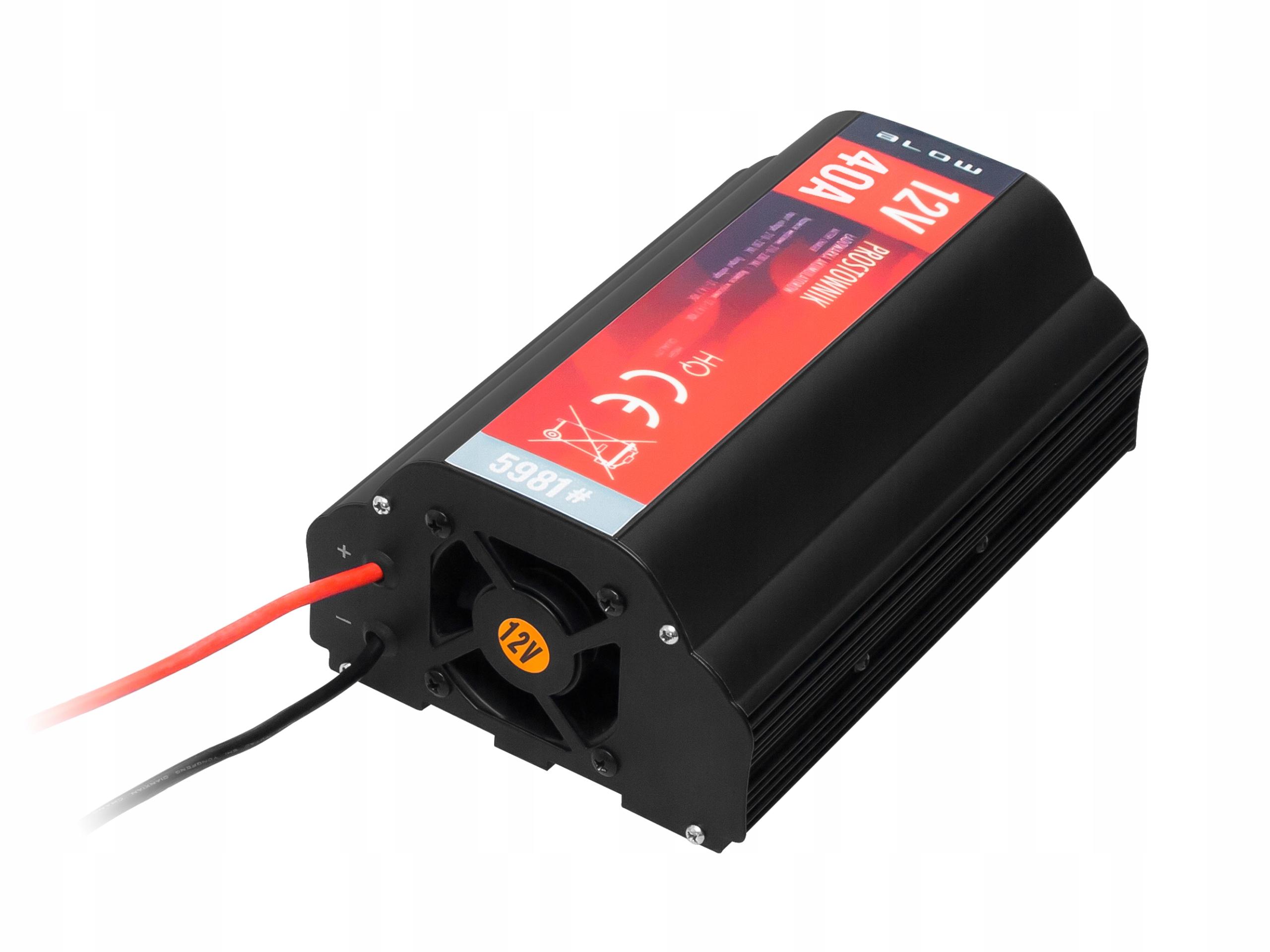 Купить Зарядное устройство BLOW зарядное устройство 12V 40A на Otpravka - цены и фото - доставка из Польши и стран Европы в Украину.