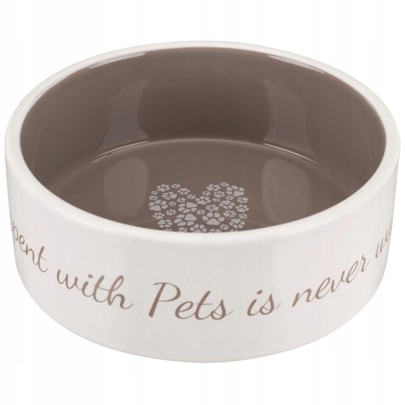 Miska ceramiczna Pet's Home 0.8L 16cm TRIXIE 25054