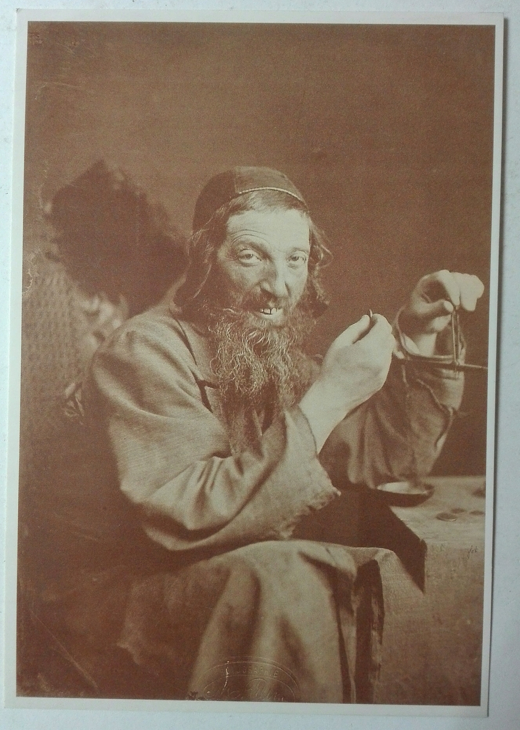 Pohľadnica židovská zlatáština Kamieniec pod. 1874 SPK