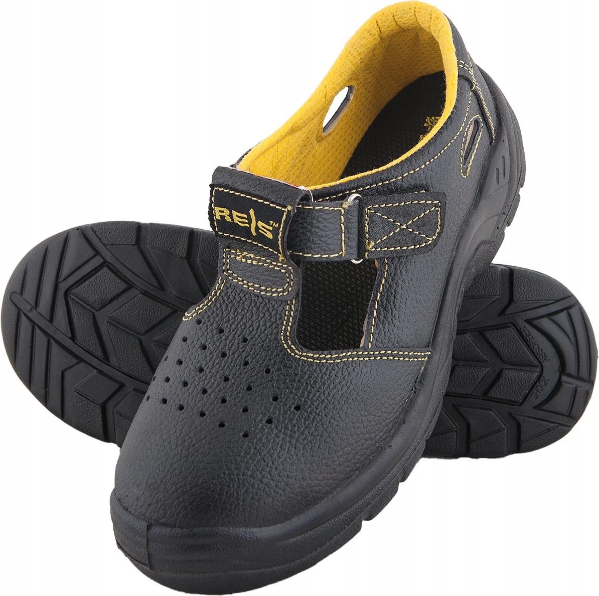 Сандалии работы обувь REIS SB стальной нос r.43