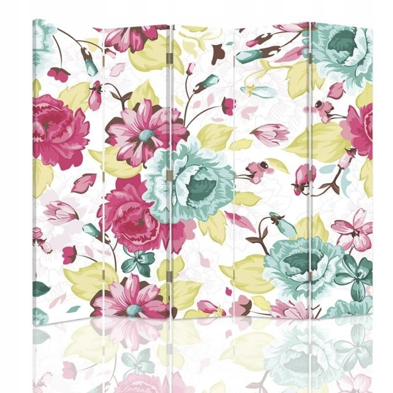 Obrazovke, závoj, Vintage kvety 180x180