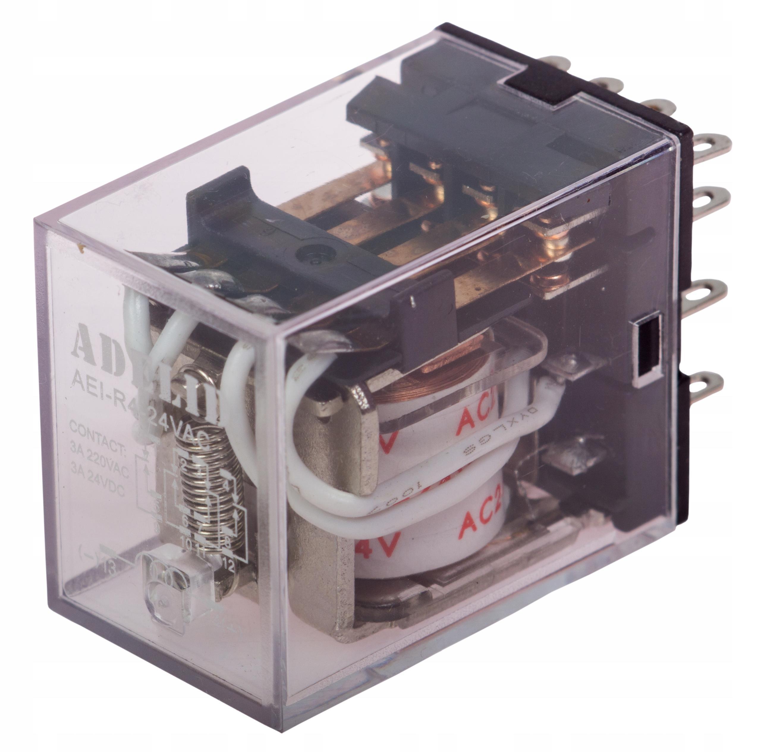 Priemyselná relé R4 Coil 24V AC premenná