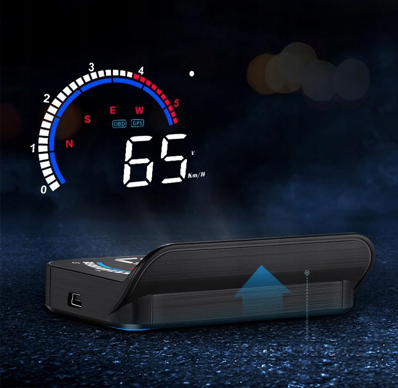 WYŚWIETLACZ PROJEKTOR LED LCD HUD OBD2 GPS USB M13 Producent Inny
