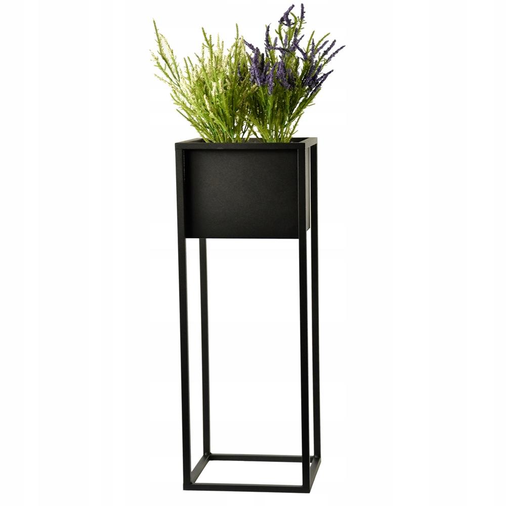 Подставка для растений металлическая loft black 70