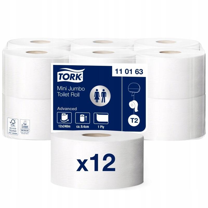 110163 krútiaci moment toaletný Papier mini jumbo x12