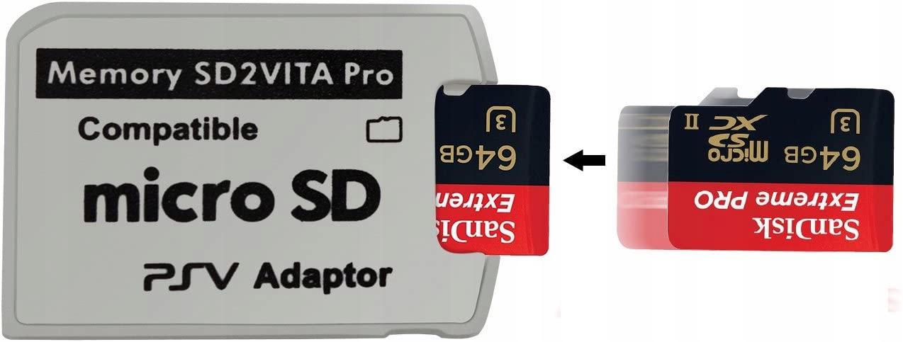 Купить АДАПТЕР MICROSD ДЛЯ PS VITA SD2VITA 5.0 SLIM FAT на Otpravka - цены и фото - доставка из Польши и стран Европы в Украину.