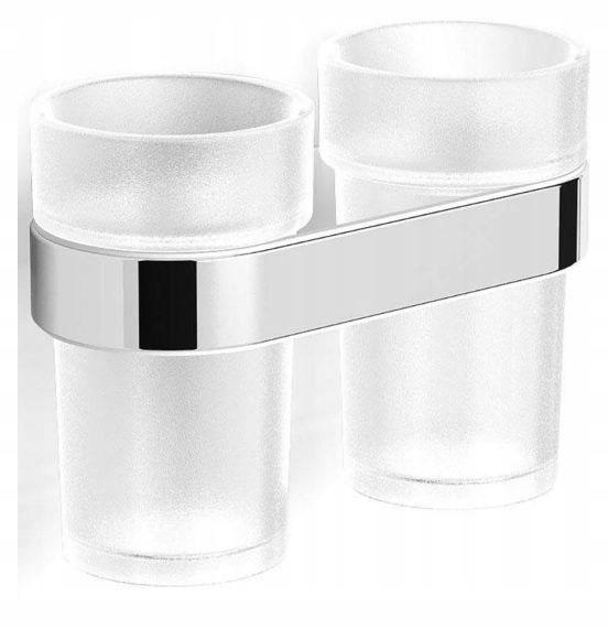 Dvojitý sklenený kúpeľňový pohár STELLA 06.412