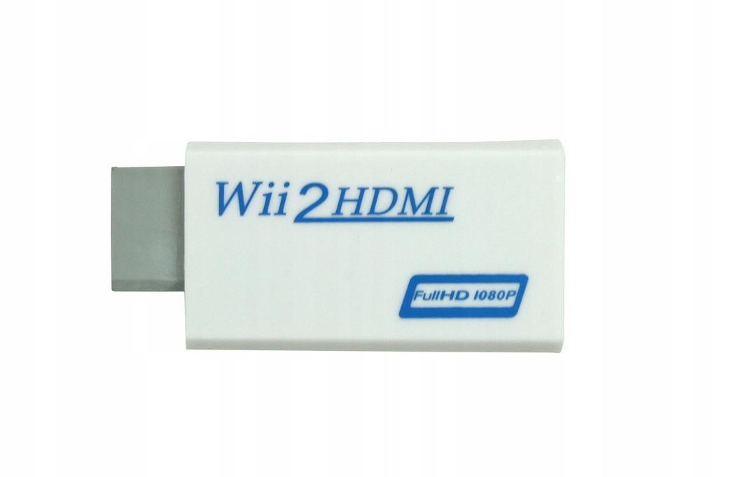 Wii na HDMI Converter Adaptér WII2HDMI AUDIO 1080P