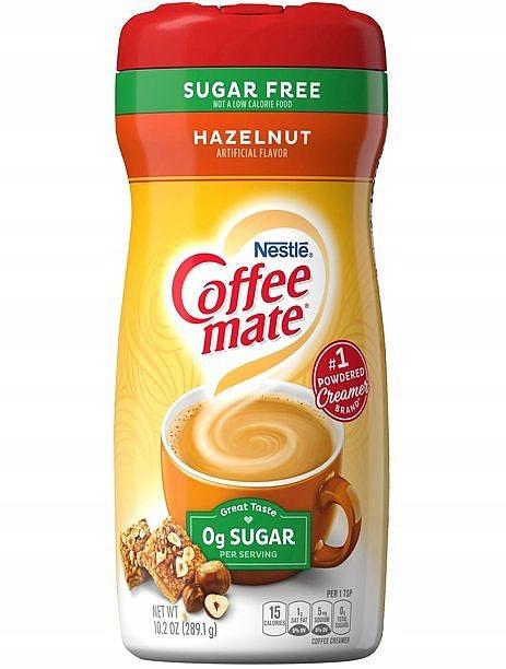 Сливки Coffee Mate без сахара с фундуком 289 г США