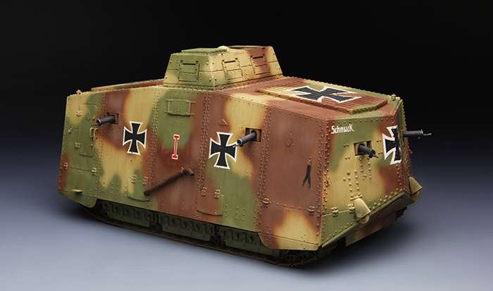 Model Meng TS-017 czołg A7V (Krupp) WWI