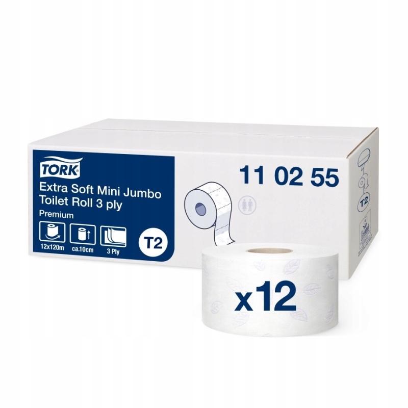 110255 krútiaci moment toaletný Papier mini jumbo mäkké T2